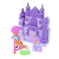 Игровой набор Кукла с аксессуарами и замок-телефон ID44A