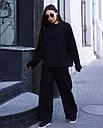 Свитшо женский чёрный Джин от бренда ТУР размер S-M, фото 2