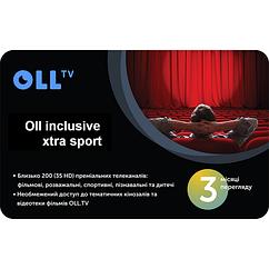 "Подписка на OLL TV пакет ""Oll inclusive extra sport"" на 3 месяца"