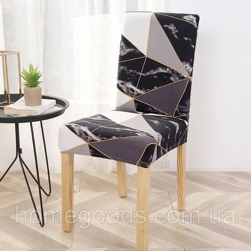 Универсальный чехол на стул с рисунком