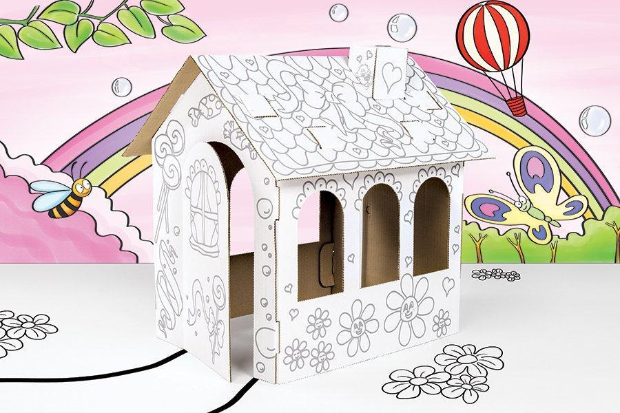 Картонний будинок для ляльок Tektorado