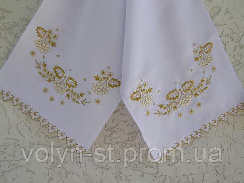 Рушник свадебный Калина люрекс