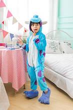 Пижама детская Kigurumba Монстр Салли M - рост 115 - 125 см Разноцветный K0W1-0038-M, КОД: 1776722