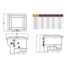 Комплексная фильтрационная установка Emaux EMD-7C (7м3/ч), фото 3