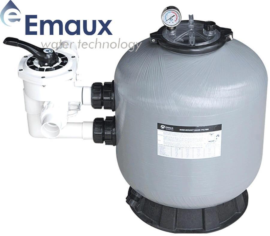 Emaux S800 24 м³/ч песочный фильтр для бассейна стеклопластиковый корпус
