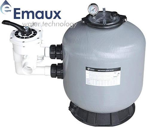 Emaux S800 24 м³/ч песочный фильтр для бассейна стеклопластиковый корпус, фото 2