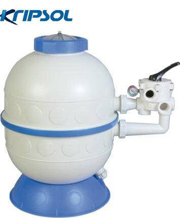Kripsol GL606 14 м3/час песчаный фильтр для бассейна корпус из термопластика, фото 2