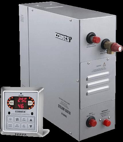 """Coasts KSB-90 9 кВт 380В парогенератор з виносним пультом KS-300 з функцією """"моментальний пар"""""""