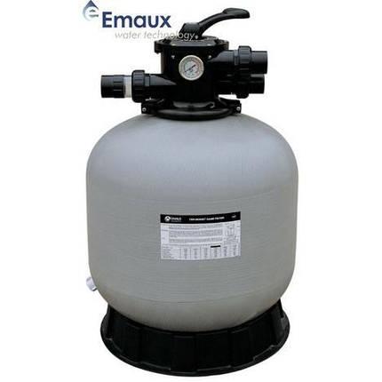 Emaux V800 24,9 м3/год піщаний фільтр для басейну склопластиковий корпус, фото 2