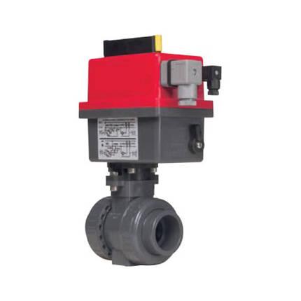 Кран шаровый EFFAST d20 мм (BDREBK1YA0200) с электроприводом PTFE/EPDM, фото 2