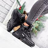 Ботинки женские Steve черные ЗИМА 2719, фото 4