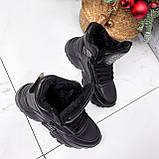 Ботинки женские Steve черные ЗИМА 2719, фото 5