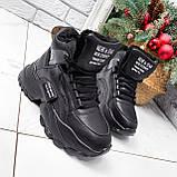 Ботинки женские Steve черные ЗИМА 2719, фото 6