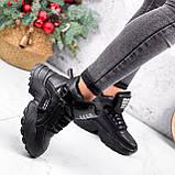 Ботинки женские Steve черные ЗИМА 2719, фото 8