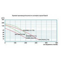 Двухступенчатый компрессор Grino Rotamik SKS 80 2V М.В (88 м3/ч, 220В), фото 3