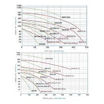 Двухступенчатый компрессор Grino Rotamik SKS 80 2V М.В (88 м3/ч, 220В), фото 2