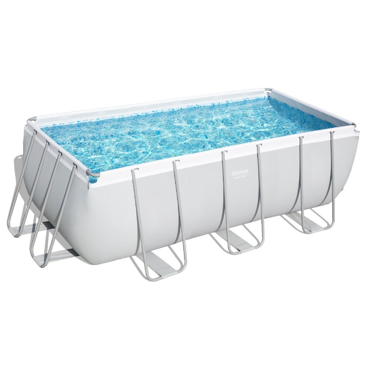 Каркасний басейн 56457 (412х201х122) з піщаним фільтром