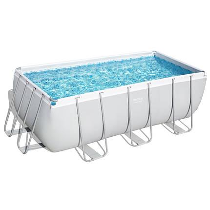 Каркасний басейн 56457 (412х201х122) з піщаним фільтром, фото 2