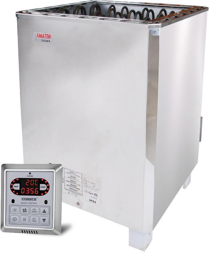 Amazon SAM B-12 кВт электрокаменка с выносным пультом CON6