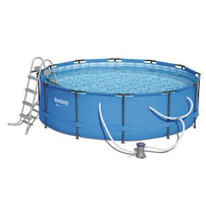 Каркасний басейн 56950 (427х107) з картриджних фільтрів