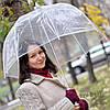 """Прозрачный зонт """"Стекляный купол"""""""