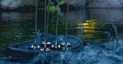 Oase Water Starlet фонтанний комплект плаваючий з підсвічуванням, фото 3