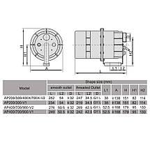 Компрессор одноступенчатый AquaViva DSU 900 (110 м3/ч, 220 В), фото 2
