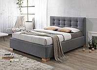 Двуспальная кровать Signal Copenhagen 160X200 Серый COPENHAGEN160SZD, КОД: 1638056