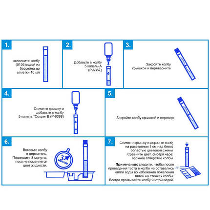 Тестер LaMotte EC-70 для определения уровня меди EC-70, фото 2