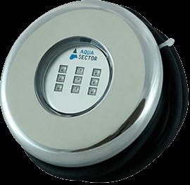Aqua Sector 10 Вт RGB (AISI 316L) світлодіодний прожектор для басейну