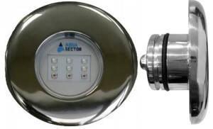Aqua Sector 10 Вт RGB (AISI 316L) світлодіодний прожектор для басейну, фото 3