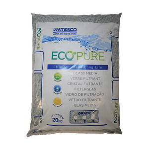 Пісок скляний Waterco EcoPure 0,5-1,0 (20 кг)