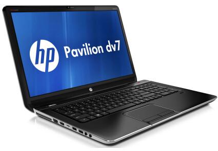 Ноутбук HP Pavilion dv7-2283eo-Intel C2D T6600-2.20GHz-4Gb-DDR2-500Gb-HDD-W17.3-Web-DVD-R-AMD Radeon HD