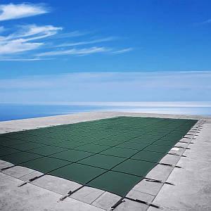 Батутное накриття для басейну Aquaviva Green