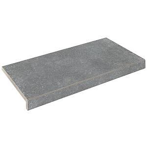 Бортова плитка Aquaviva Granito Gray, Г-подібна, 595x345x50(20)