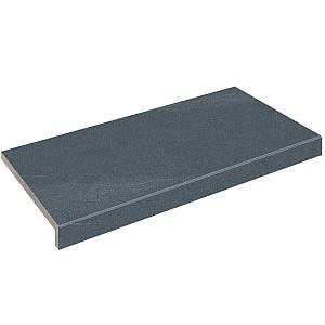 Бортова плитка Aquaviva Montagna Black, Г-подібна, 595x345x50(20)