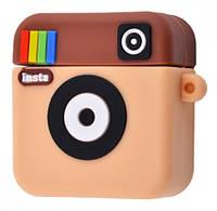 Чехол Grand Instagram Case для AirPods Brown NC-23120, КОД: 1326803