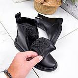 Ботинки женские Jan черные Зима 2717, фото 2