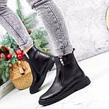 Ботинки женские Jan черные Зима 2717, фото 5