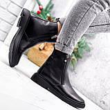Ботинки женские Jan черные Зима 2717, фото 4