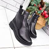 Ботинки женские Jan черные Зима 2717, фото 7