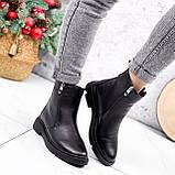 Ботинки женские Jan черные Зима 2717, фото 8