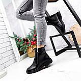Ботинки женские Jan черные Зима 2717, фото 6