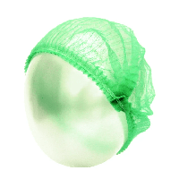 Одноразовые шапочки medlife 100 ШТ Зеленая, КОД: 2413348