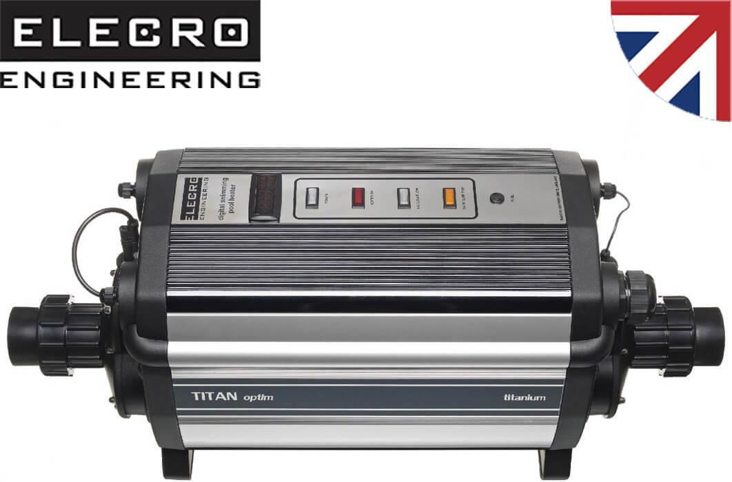 Elecro Titan Optima C-60 кВт електронагрівач для басейнів