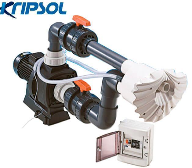 Kripsol JSL88.B (380В) 88 м3/год пристрій зустрічної течії