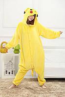 Пижама кигуруми взрослая Kigurumba Пикачу рост 145-155 см S Желтый K1W1-0069-S, КОД: 1685807