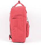 Молодежный рюкзак сумка Fjallraven Kanken classic 16 канкен коралловый женский, подростковый, для девочки, фото 5