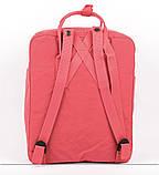 Молодежный рюкзак сумка Fjallraven Kanken classic 16 канкен коралловый женский, подростковый, для девочки, фото 6
