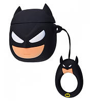 Чехол Grand Marvel x DC Case для AirPods Batman, КОД: 1326811